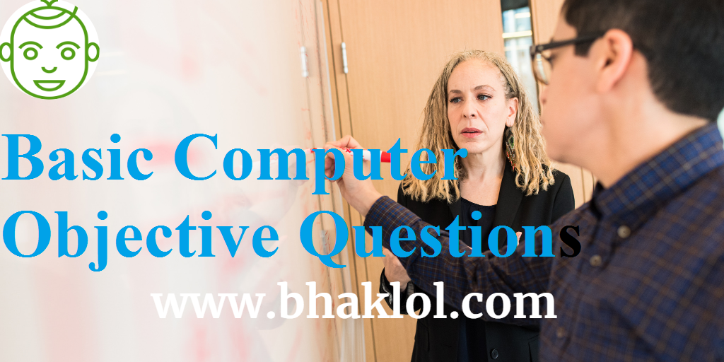 1000+ Basic Computer Objective Questions with Answers in Hindi for