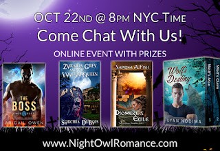 Chat with NightOwlRomance Authors!