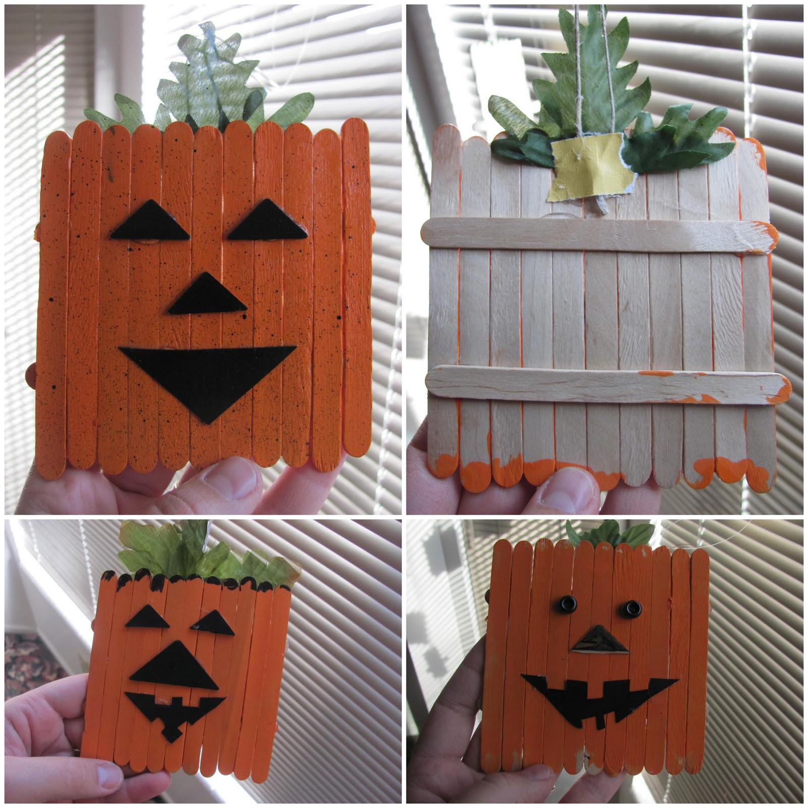Easy At Home Halloween Decorations: Hanging By A Silver Lining: Easy Halloween Decorations