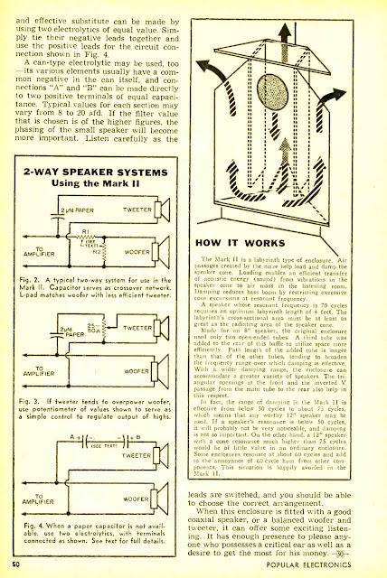 The Mark II - A $3 Speaker Baffle - 1956