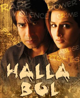 Halla Bol 2008 Hindi Movie 450MB HDRip 480p ESubs