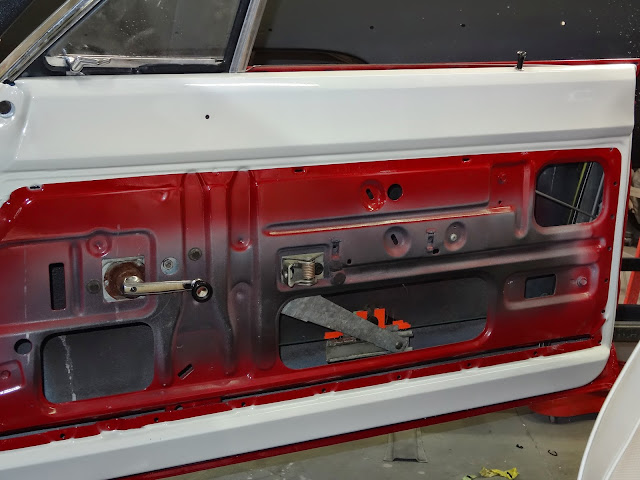 1970 roadrunner door and window fit