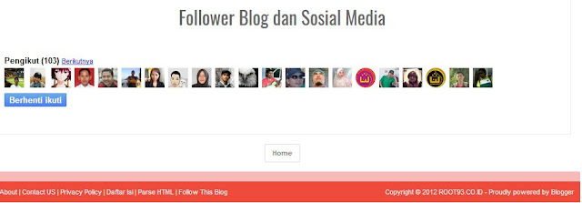 menampilkan follower di halaman blogspot