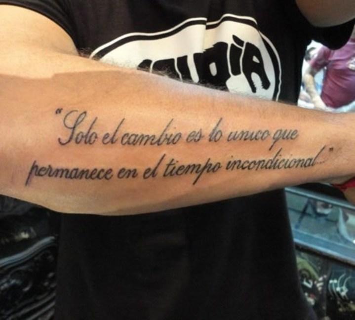 101 Frases Para Tatuajes En Español E Inglés Cortas: Frases Para Tatuajes Hombres