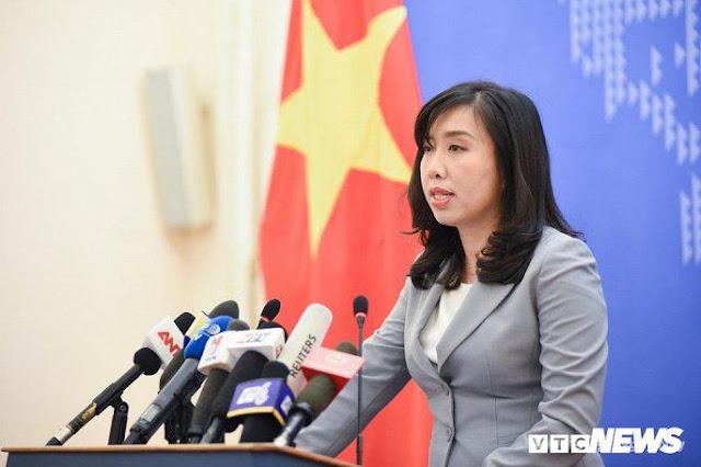 """Việt Nam lên tiếng """"phản đối"""""""