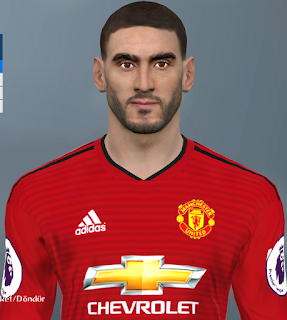 PES 2017 Faces Marouane Fellaini by Huseyn