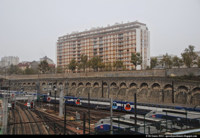 Paris Porte Charenton RER D Technicentre voies ferrées rails
