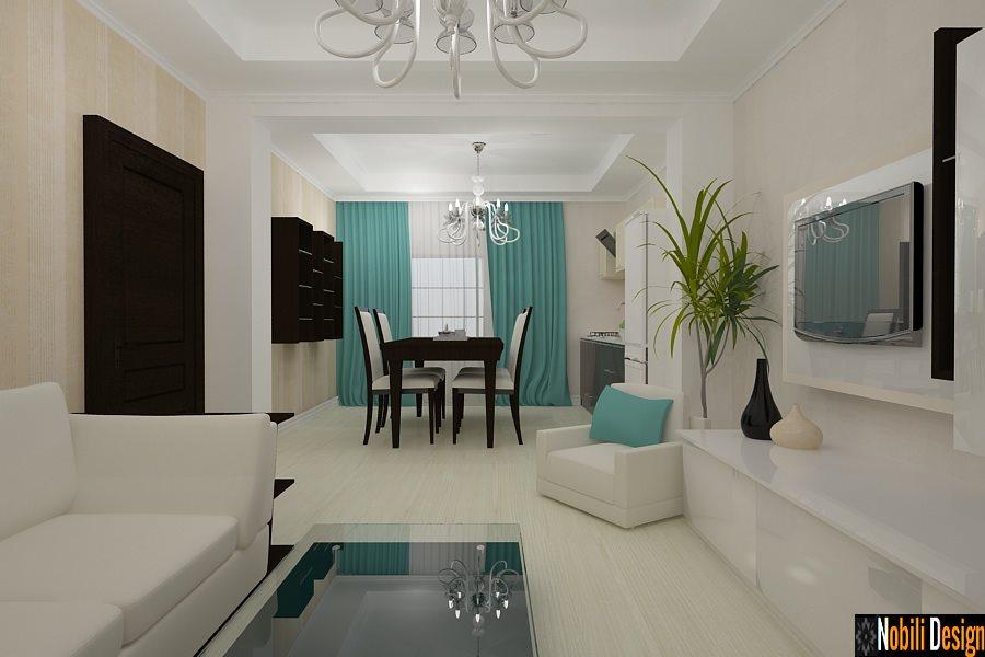 Design interior dormitor case moderne - Amenajari interioare living / Ploiesti