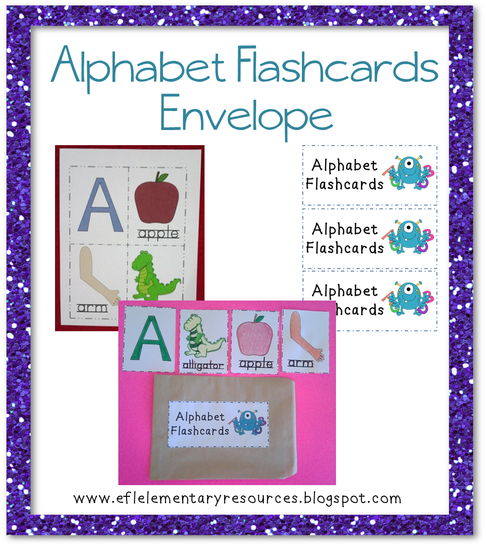 EFL Elementary Teachers: Alphabet Resources For ELL