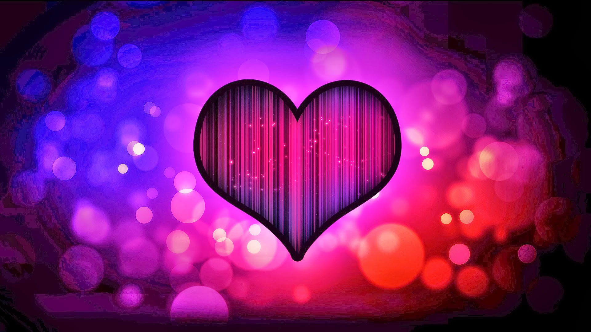 Love heart abstract hd wallpaper image photo picture - HD Wallpaper Only