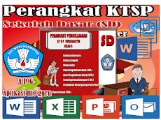 Perangkat KTSP SD Kelas 5 Mapel TIK Format Words