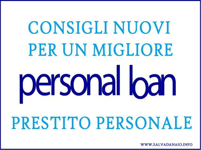 Miglior prestito personale: consigli 2016 per non sbagliare