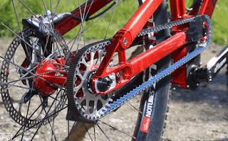Велосипед с ремнем вместо цепи