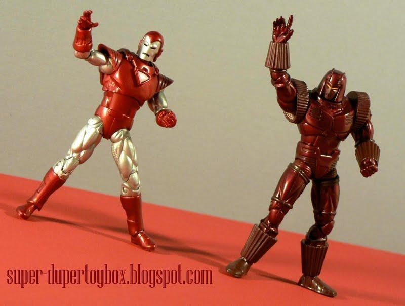Super-DuperToyBox: Iron Man 2 Silver Centurion & Crimson