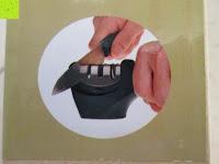 Verpackung: E-PRANCE® Messerschärfer Messerschleifer Knife Sharpener mit 3 Stufen