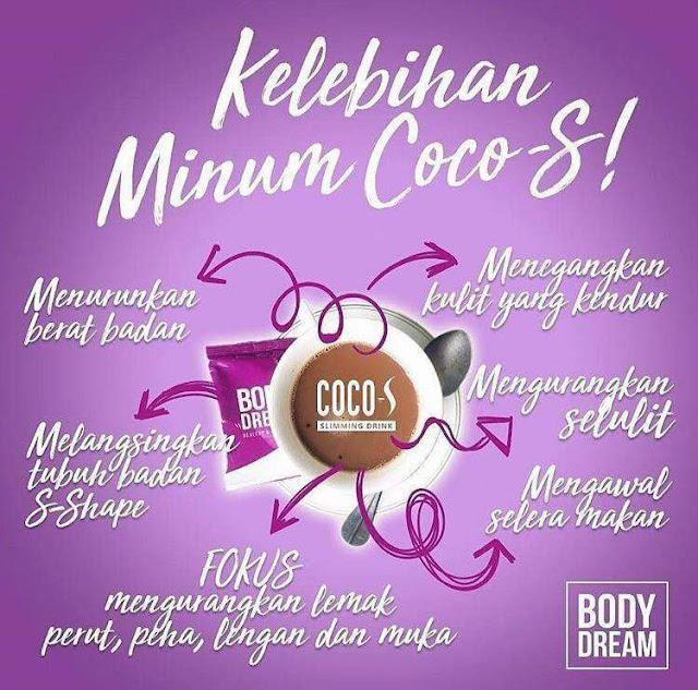 Body Dream Coco Perasa Coklat Bantu Kuruskan Badan