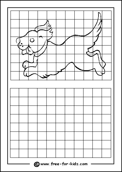 Budget Friendly Homeschooling: Free Grid Drawing Worksheets