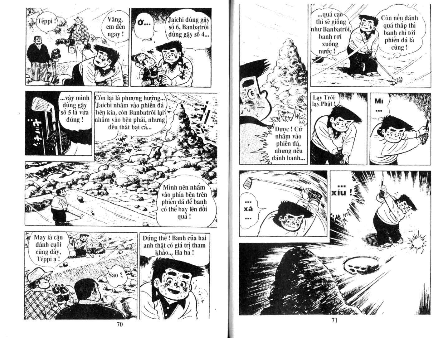 Ashita Tenki ni Naare chapter 16 trang 34
