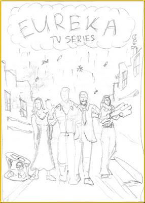 Eureka sketch poster