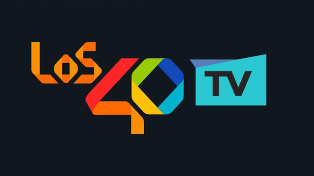 Logo actual de la cadena Los 40TV
