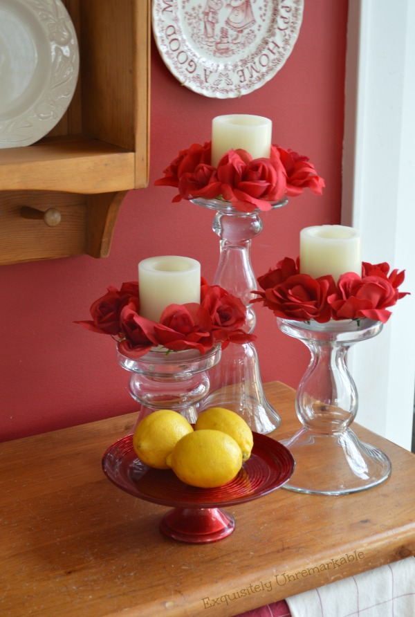 Floral DIY Candle Rings