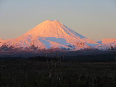 Volcán Ngauruhoe. Parque Nacional Tongariro, Nueva Zelanda
