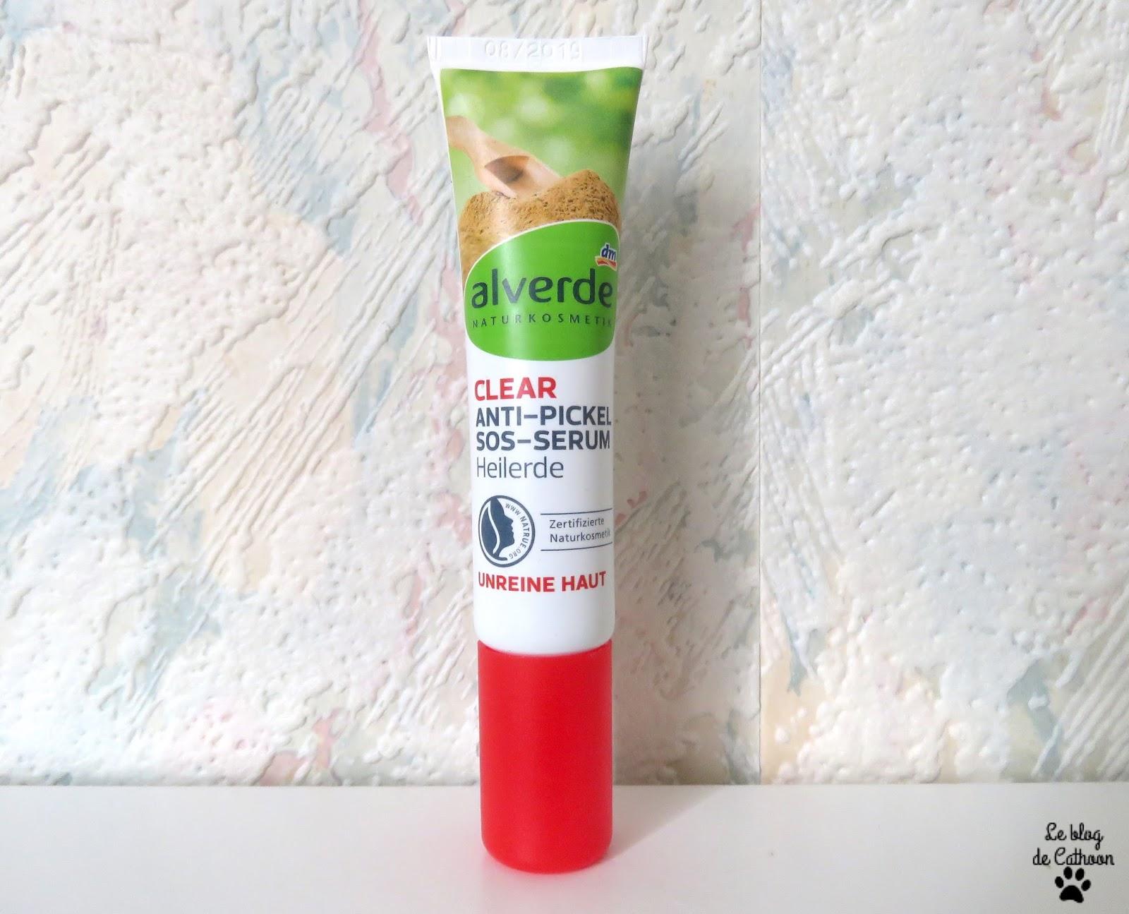 Clear Anti-Pickel SOS-Serum d'Alverde