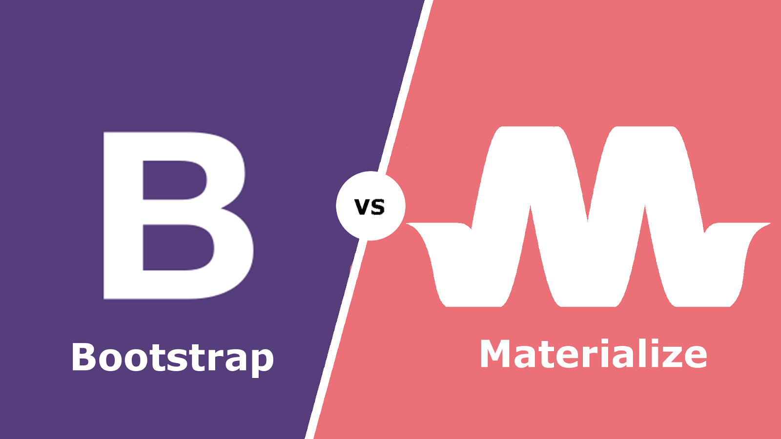 Bootstrap vs Materialize