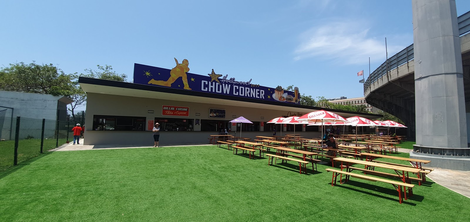 New Hollywoodbets Food Court - Chow Corner - at Hollywoodbets Kingsmead Cricket Stadium