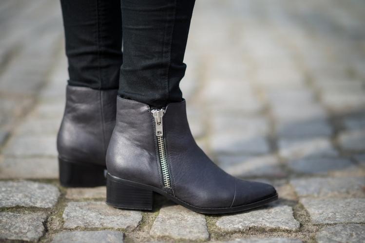 styl boho stylizacja boho botki Buffalo London Buffalo boots sztyblety ze skóry skórzane buty wiosna 2016 blog modowy blogerka modowa