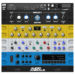 Audio Animals Essential Percussion Hits WAV KONTAKT VST AU WiN