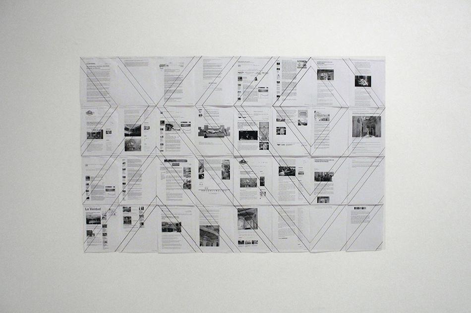 Collage de notas de prensa sobre el estado del hotel Miramar
