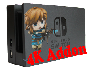 nintendo switch 4k gaming addon
