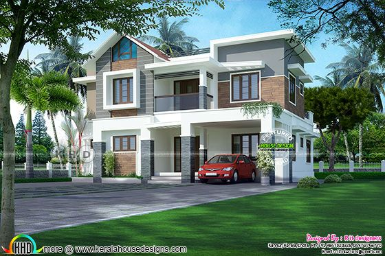 2239 sq-ft 4 bedroom modern home