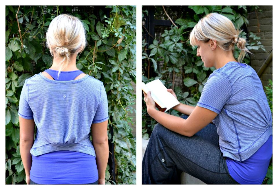 3b4a084f7d2 Pigment Tonka Stripe Calm SS Tee. Shown with Pigment Cool Racerback and  what looks like older Static Charocal Still Pants.