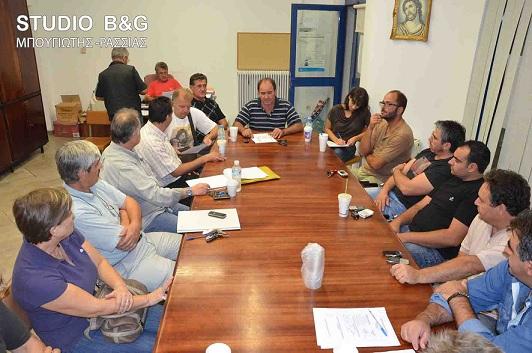 Σύσκεψη της Ομοσπονδίας Επαγγελματιών Βιοτεχνών Εμπόρων Αργολίδας για τη κατάργηση των γραφείων ΕΦΚΑ