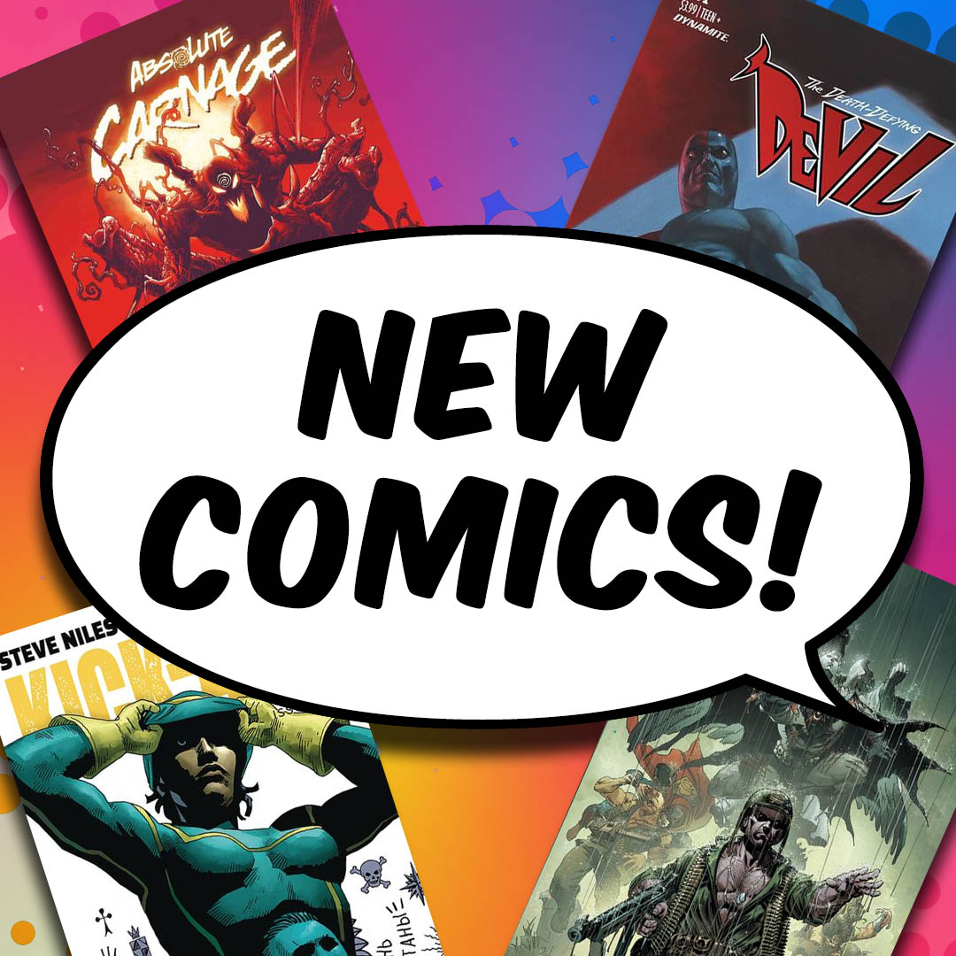 New Comic Book Day 8-7-2019