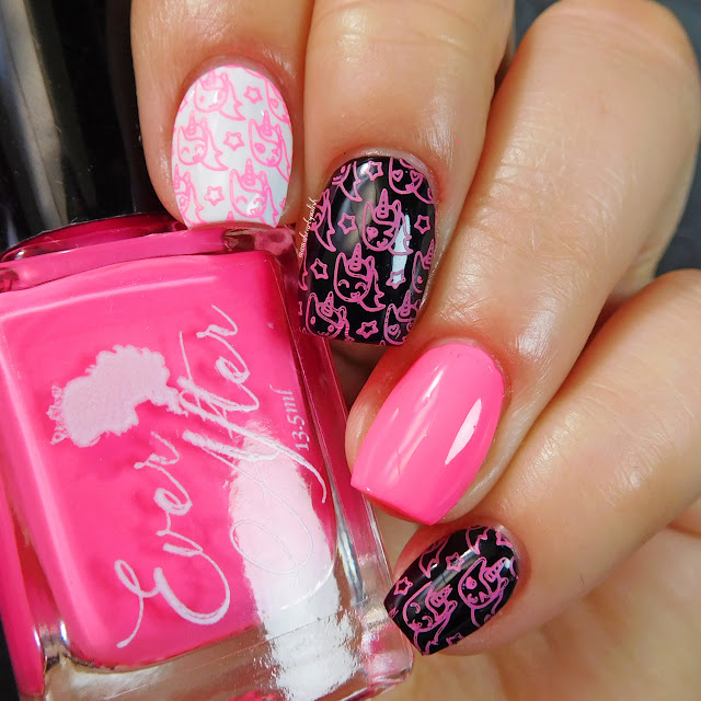 ever-after-rachel-flamingo-pink-neon-stamping-polish