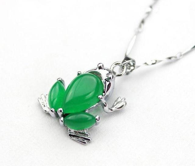 Gemstone Frog Jewelry