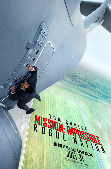 Primul poster pentru Mission: Impossible 5 Rogue Nation