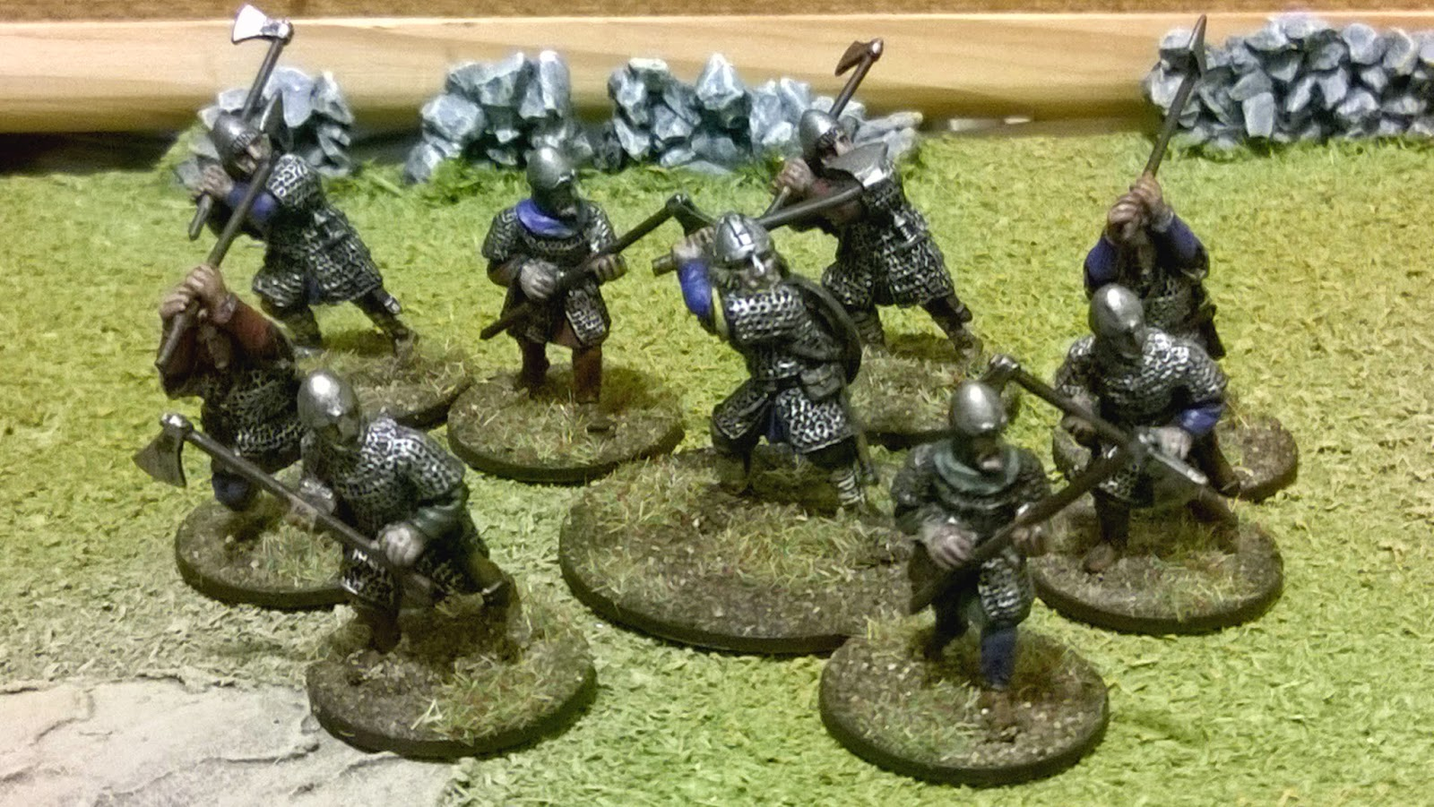Saga anglo-dane warlord and huscarls