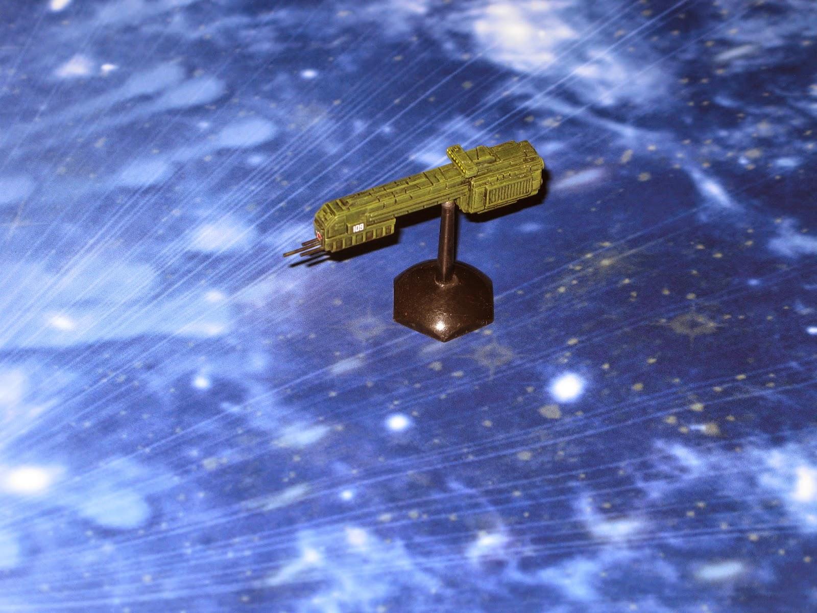 Jim's Wargames Workbench: Deep Space Full Thrust