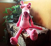 Pantera-Rosa-amigurumi