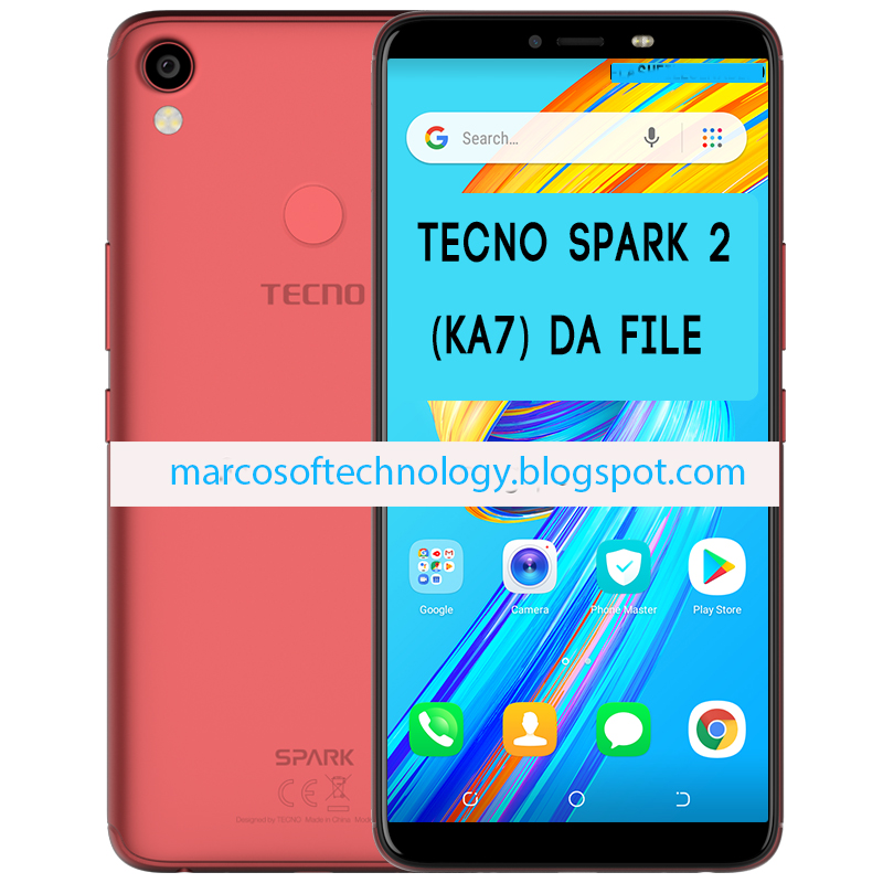 TECNO SPARK 2 KA7 8 1 GO CUSTOM DA FILE( OFFICIAL SECURE