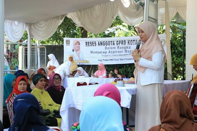 Tengku Farida Serap Aspirasi Warga di Tiga Kecamatan