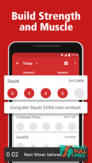 StrongLifts 5x5 Workout Pro APK