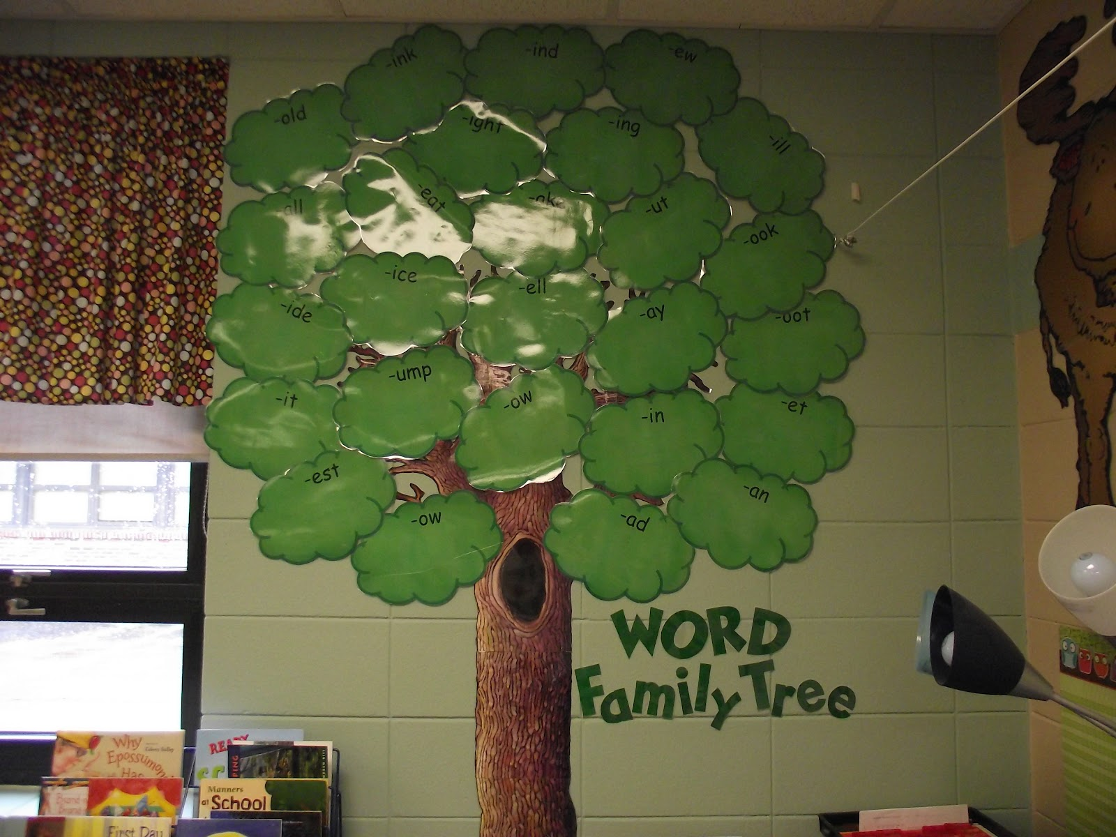 First Grade O W L S Word Family Tree
