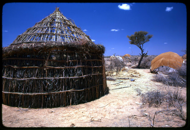 Boho refugee camp, Somalia. Photo: Frank Keillor