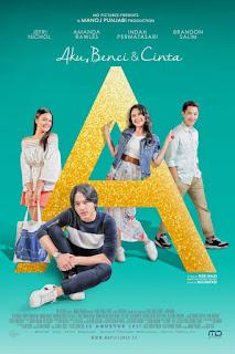 Download Film A: Aku, Benci & Cinta (2017)