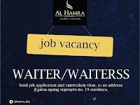 lowongan kerja waiter al hamra surabaya